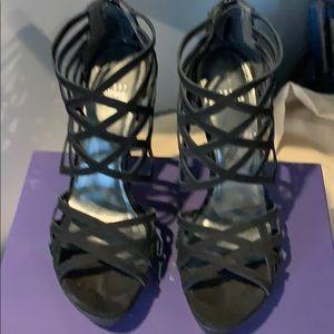 Beautiful platform cage sandals -